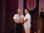 Fleet Admiral Nimitz Trophy presented to CDR Gino Celio
