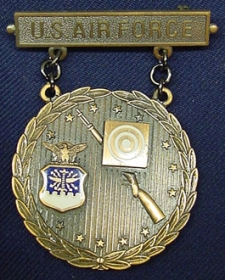 Bronze USAF Excellence In Competition Rifleman Badge