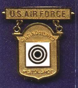 USAF Distinguished Pistol Shot Badge
