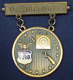 Elementary USAF Excellence In Competition Rifleman Badge