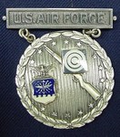 Silver Air Force Excellence In Competition Rifleman Badge